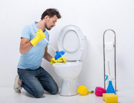 wc bouchés plombier