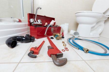 wc bouchés outil plombier